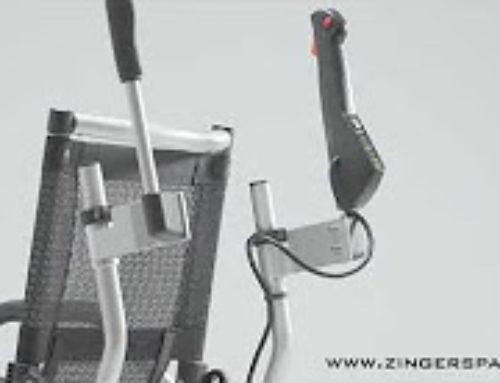 kit posterior de controlo de marcha Zinger