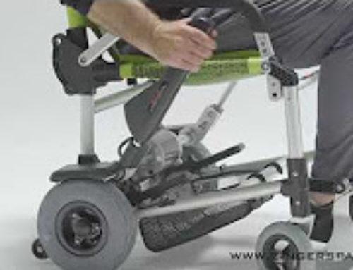 Arranque da cadeira Zinger