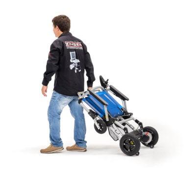 Cadeira de rodas elétrica Joytec dobrável