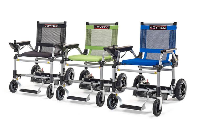 Cores cadeira de rodas eletrica joytec